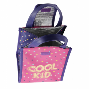 Cool Kid lunch bag interior