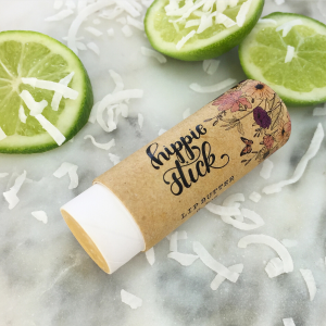 lime & coconut lip balm