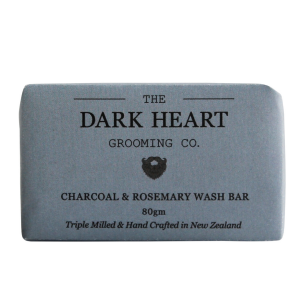 charcoal & rosemary wash bar