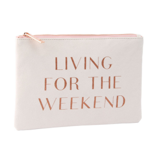 living for the weekend purse