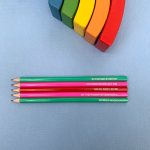 Child of the 80s pencil set