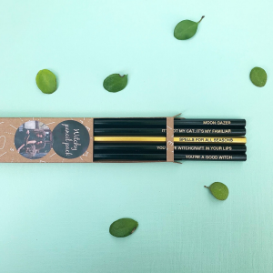witches pencil set
