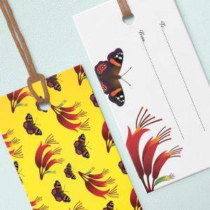 monarch butterfly gift tags