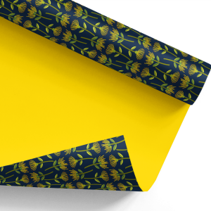 pohutukawa (yellow) wrapping paper