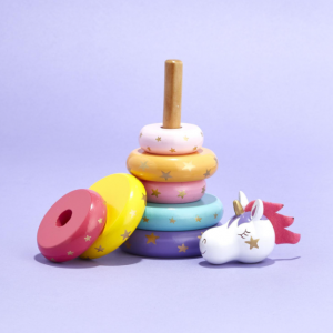 unicorn ring stacker